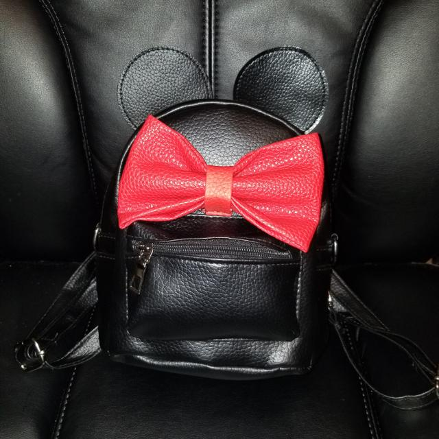 8f91c349281 Best Black   Red Bow Minnie Mouse Backpack for sale in Redlands ...