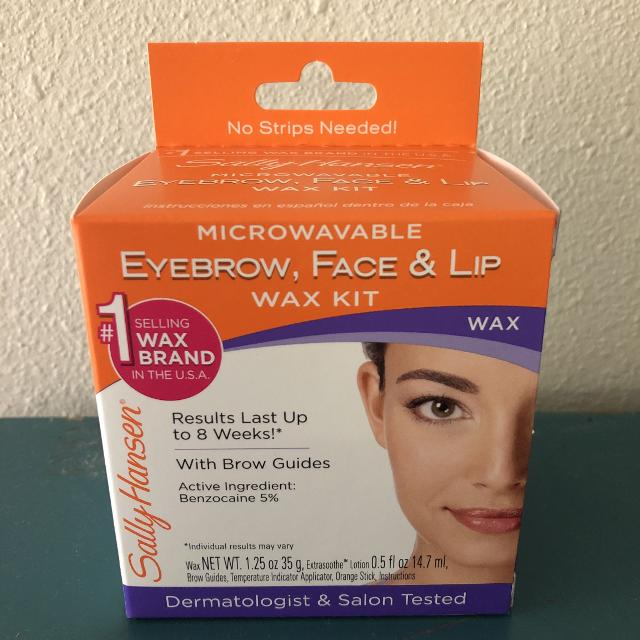 Find More Sally Hansen Microwavable Eyebrow Face Lip Complete Wax