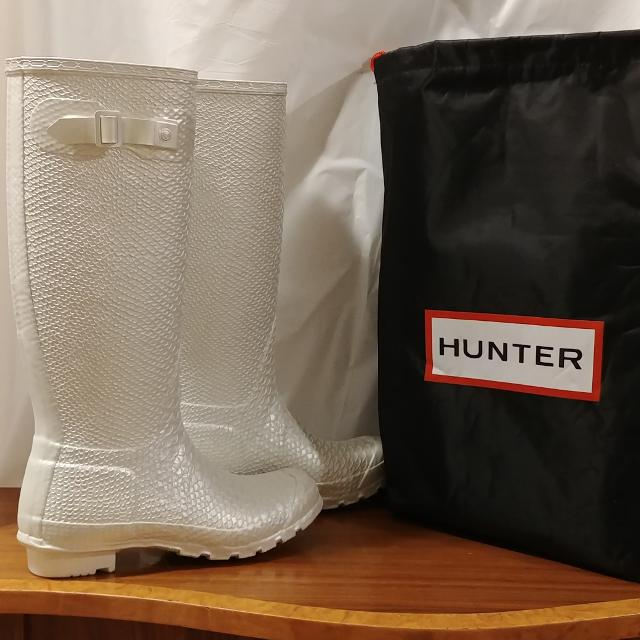 1629ac6414 Best Brand New Rare White Hunter Boots for sale in Richmond Hill ...