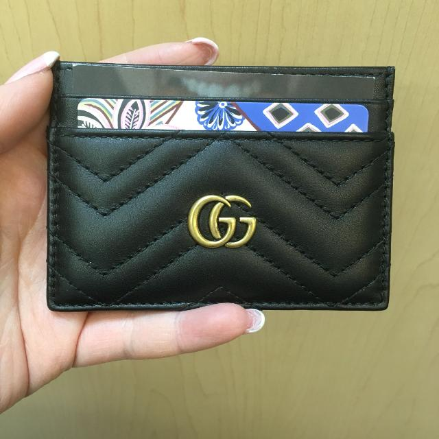a3b271dca Find more Gucci Gg Marmont Card Case for sale at up to 90% off