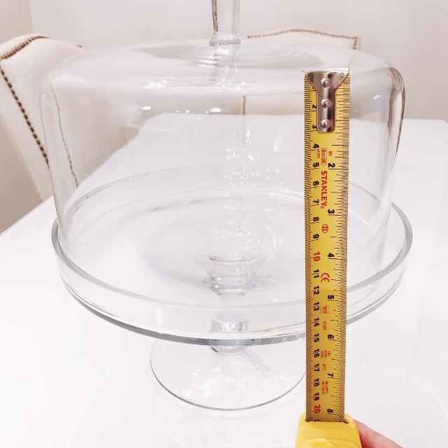 Best Tall Glass Cake Stand Cake Dome With Cover For Sale In