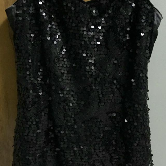 Find More Hm Little Black Sequin Dress Size 8 For Sale At Up To 90 Off