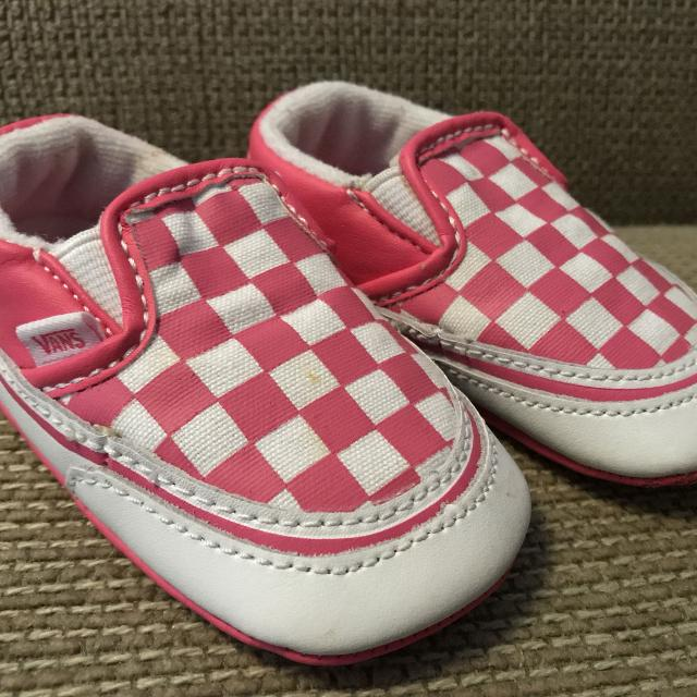 d75e0d0271 Find more Vans Pink Checkerboard Crib Shoe for sale at up to 90% off