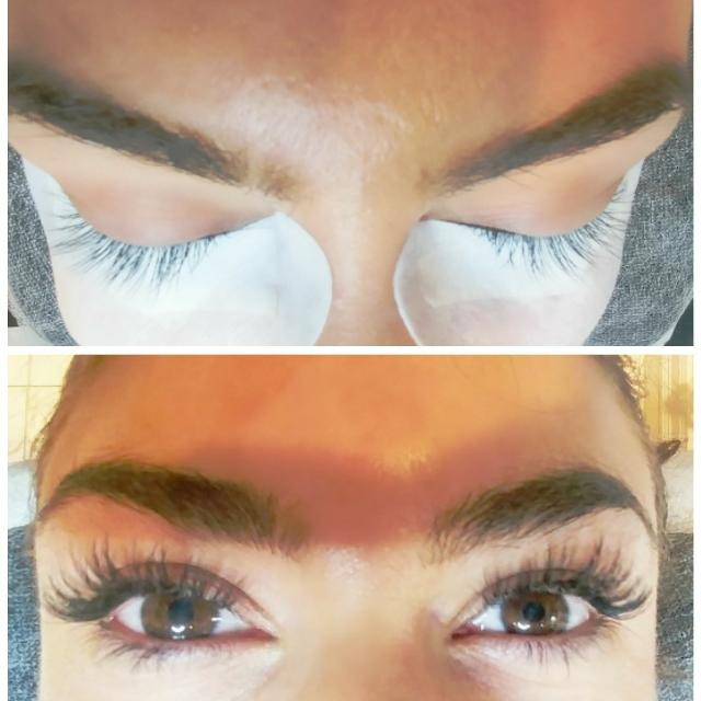 Best Eyelash Extensions Full Set Classic Russian Volume Available