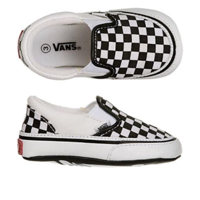 e8f6a43712b Find more Vans Baby Slip Ons - Size 3 for sale at up to 90% off
