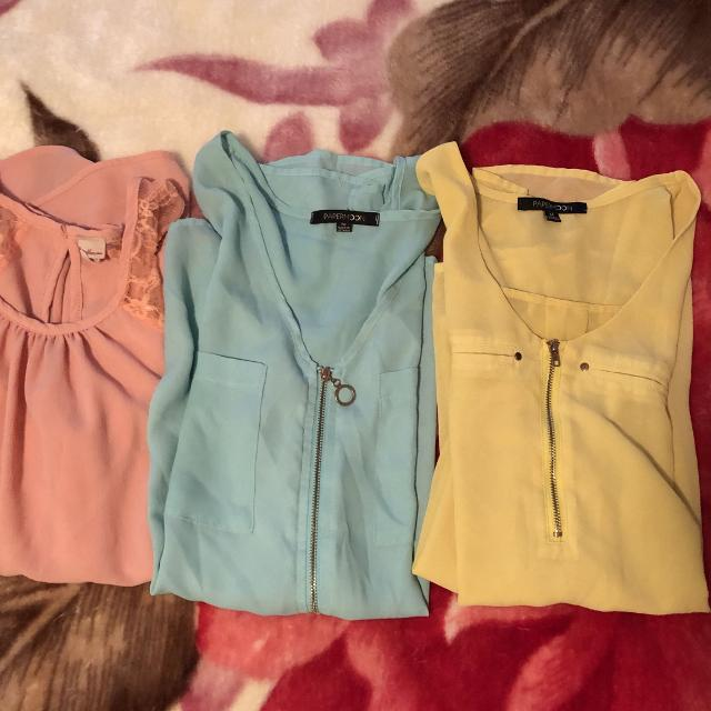 Junior dressy tops