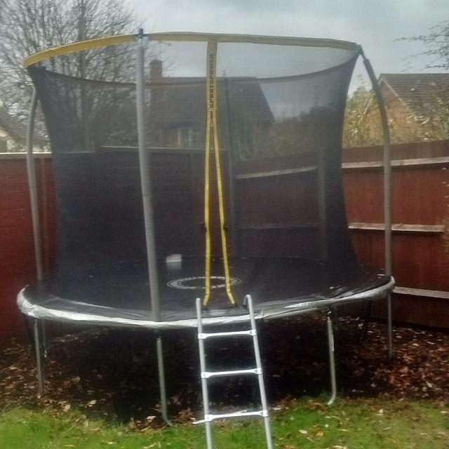 Find More Sportspower Trampoline 10 Ft With Enclosure For Sale At