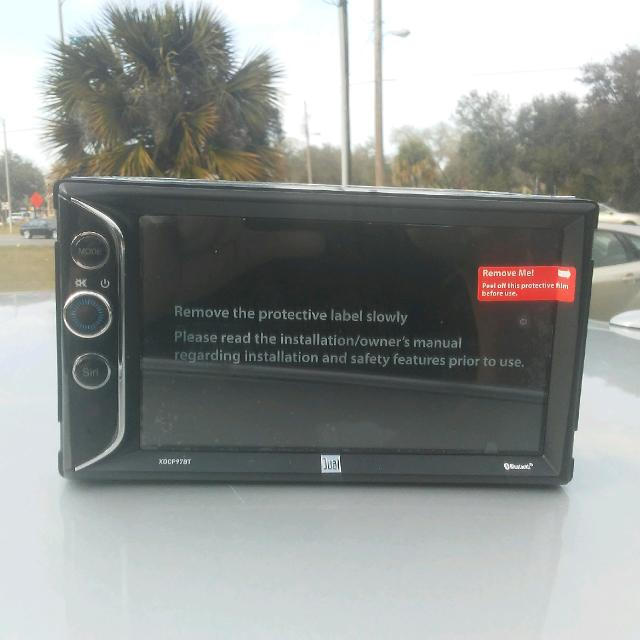 Best Apple Carplay Dual Electronics Xdcp97bt Led Backlit Car Stereo