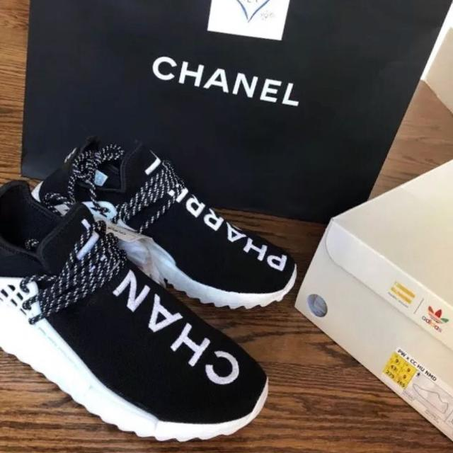 new product f1076 ac510 Authentic adidas HUMAN RACE NMD PHARREL x CHANNEL