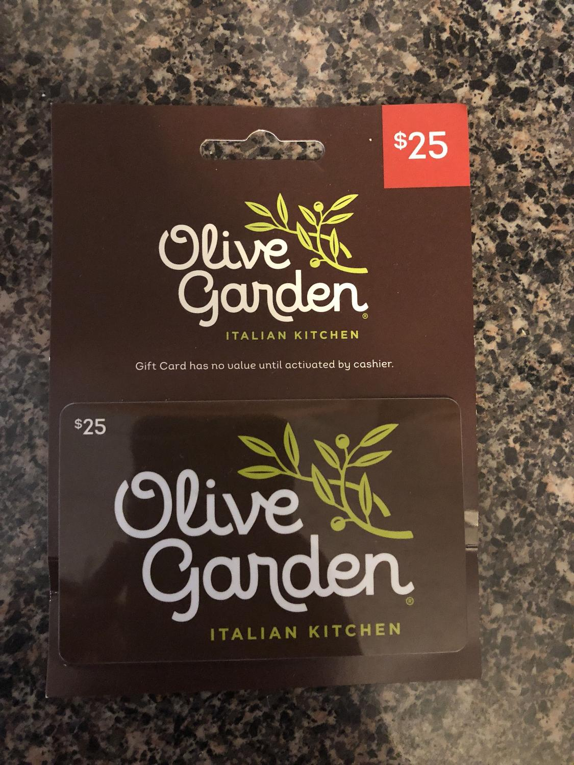 Find More Olive Garden Gift Card For Sale At Up To 90 Off