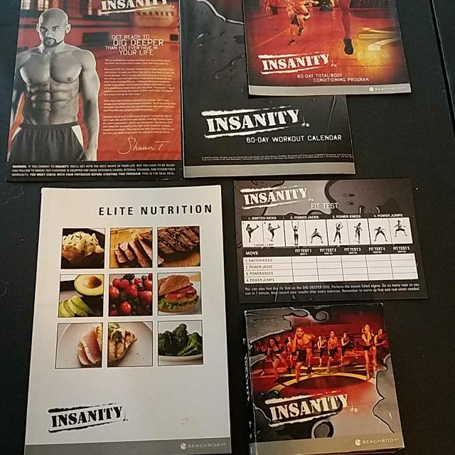 Insanity Home Workout Program Complete Set - REDUCED