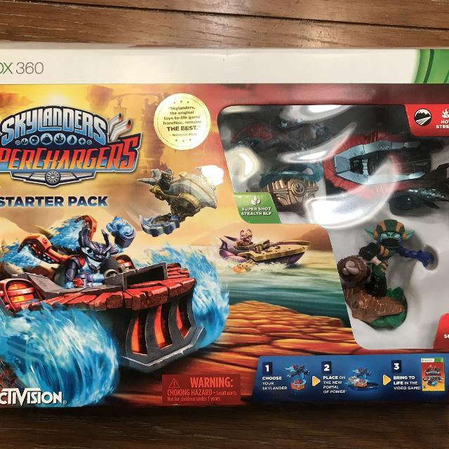 Find More Skylanders Superchargers- Xbox 360 For Sale At