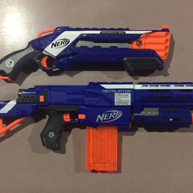Find More Nerf Retaliator Roughcut For Sale At Up To 90 Off
