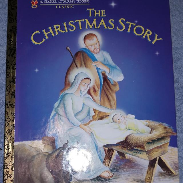 The Christmas Story Book.1980 The Christmas Story A Little Golden Book