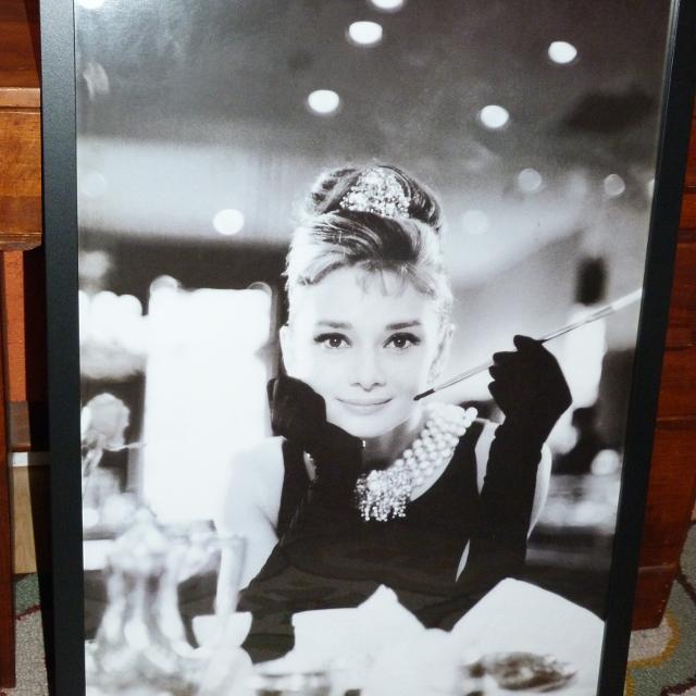 Best Audrey Hepburn Framed Art Glass for sale in Duncan, British ...