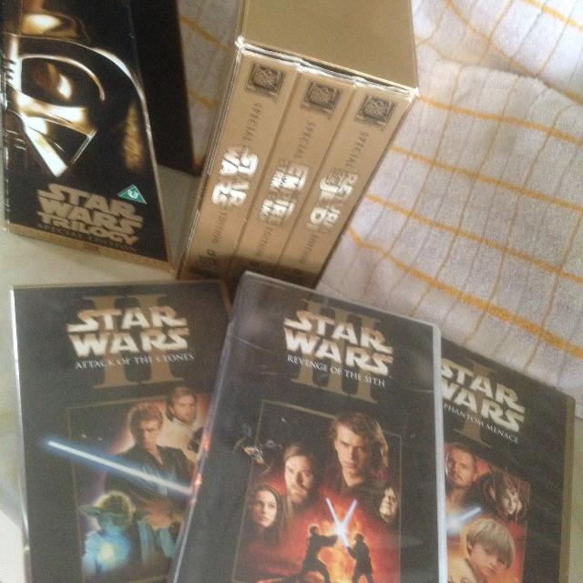 Find More Star Wars Trilogy Gold Spec Edition Plus 3 Other Vhs Videos For Sale At Up To 90 Off