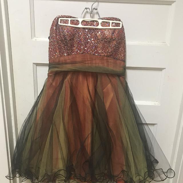 Junior/Misses Plus Size Prom Dress (Used Once)