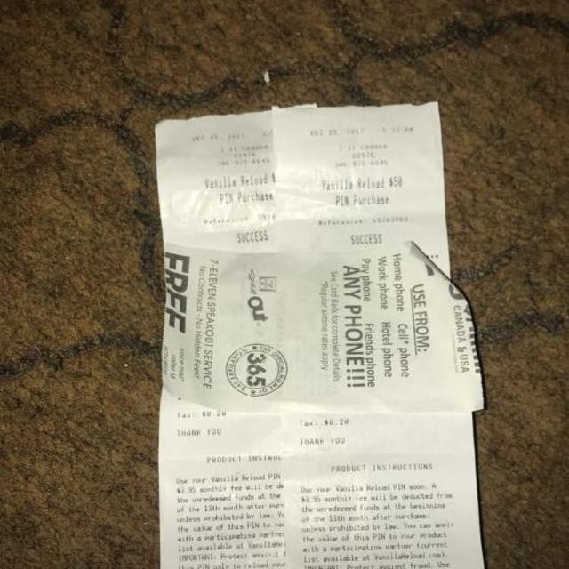 58d8c9745db3 Best X2  50 Vanilla Mastercard Reload Pins for sale in Kindersley ...