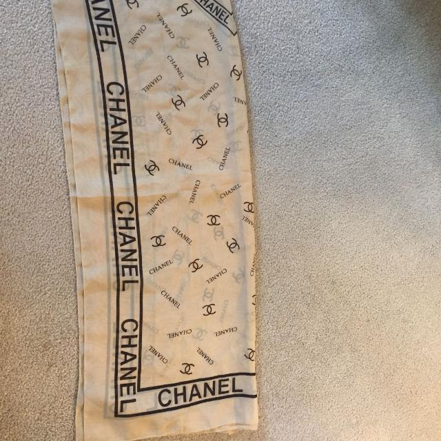 73f7ca5650b Best Vintage Chanel Scarf for sale