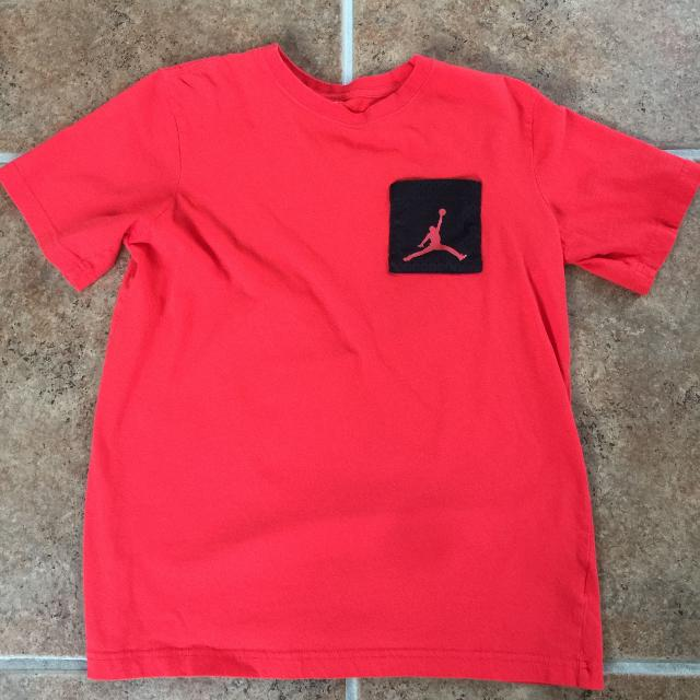 1478172f7b8 Find more Air Jordan Boys T Shirt Red Black Xl for sale at up to 90% off