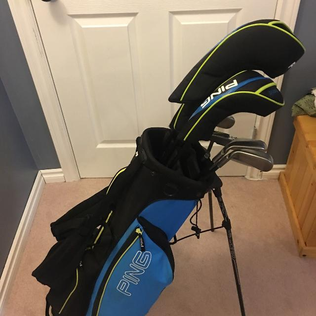 Find More Ping Thrive Junior Golf Set With Bag For Sale At Up To 90 Off