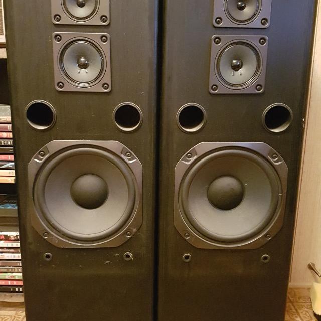 Fisher STV - 9005BC Stereo Speakers
