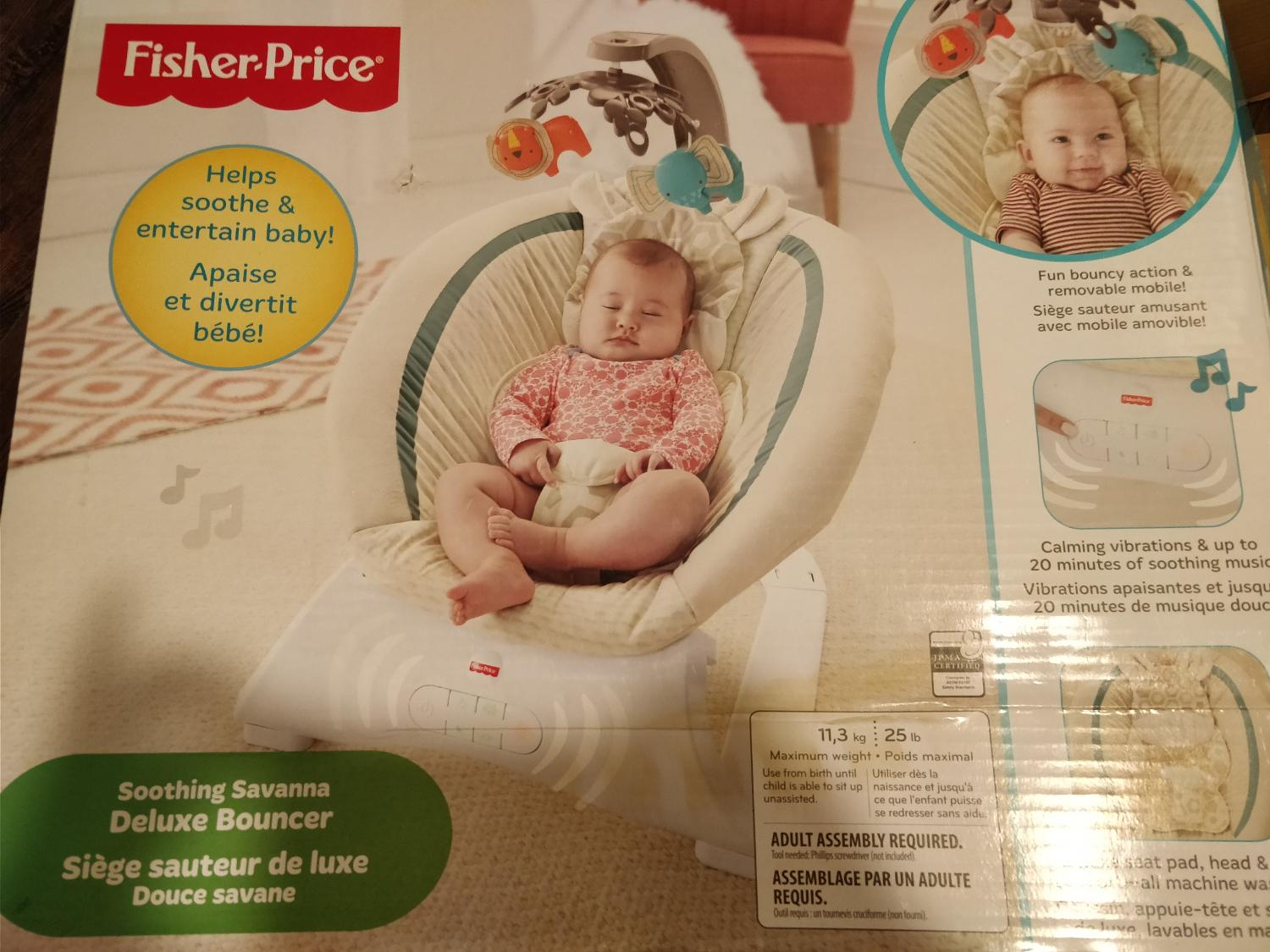 Best Fisher Price Vibrating Bouncer For Sale In Calgary Alberta For