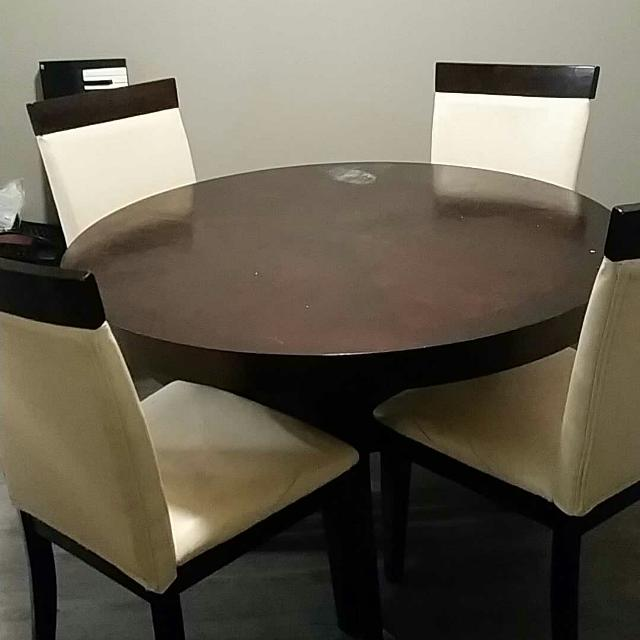 Dining Room Table Set With Four Chairs