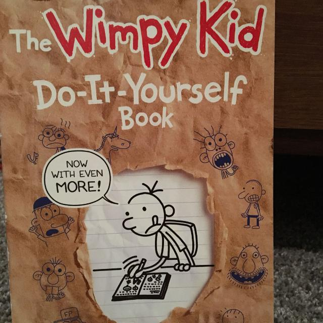 Find more wimpy kid do it yourself book for sale at up to 90 off wimpy kid do it yourself book solutioingenieria Gallery