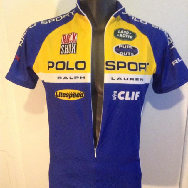 Best Vintage Polo Ralph Lauren Cycling Jersey For Sale In Cote Saint