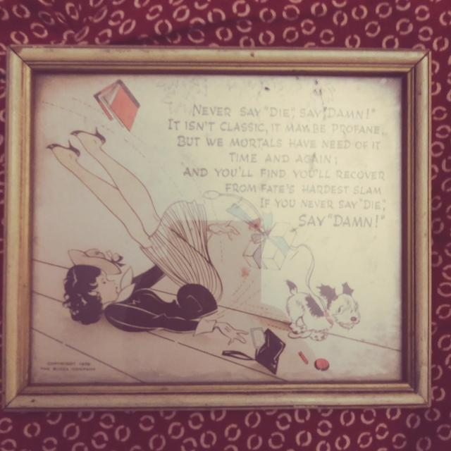 Best Buzza Company Vintage Frame Print (1969) for sale in Memphis ...