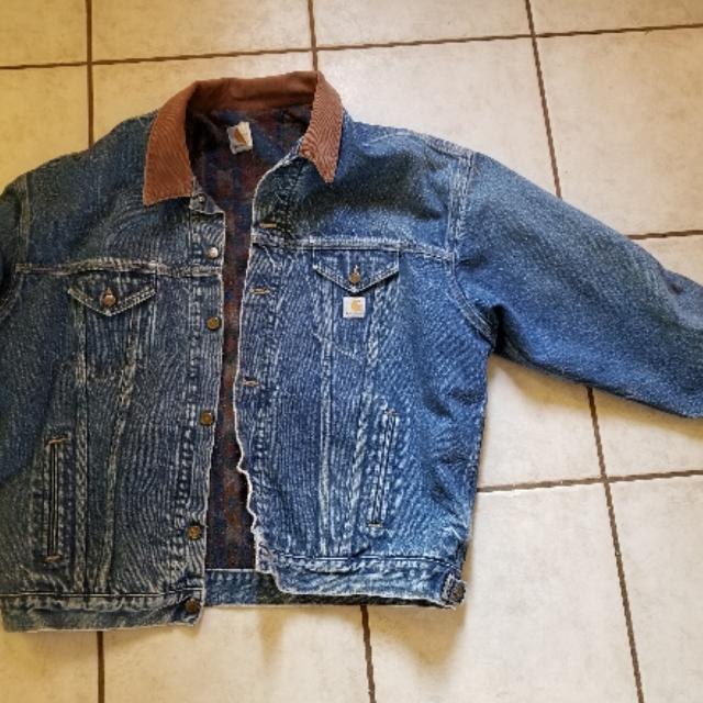 Best Carhartt Denim Jacket Men S 3xl For Sale In Albuquerque New