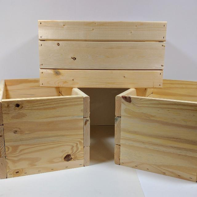 Wooden Crates 8 12 Tall 10 Wide 16 Long