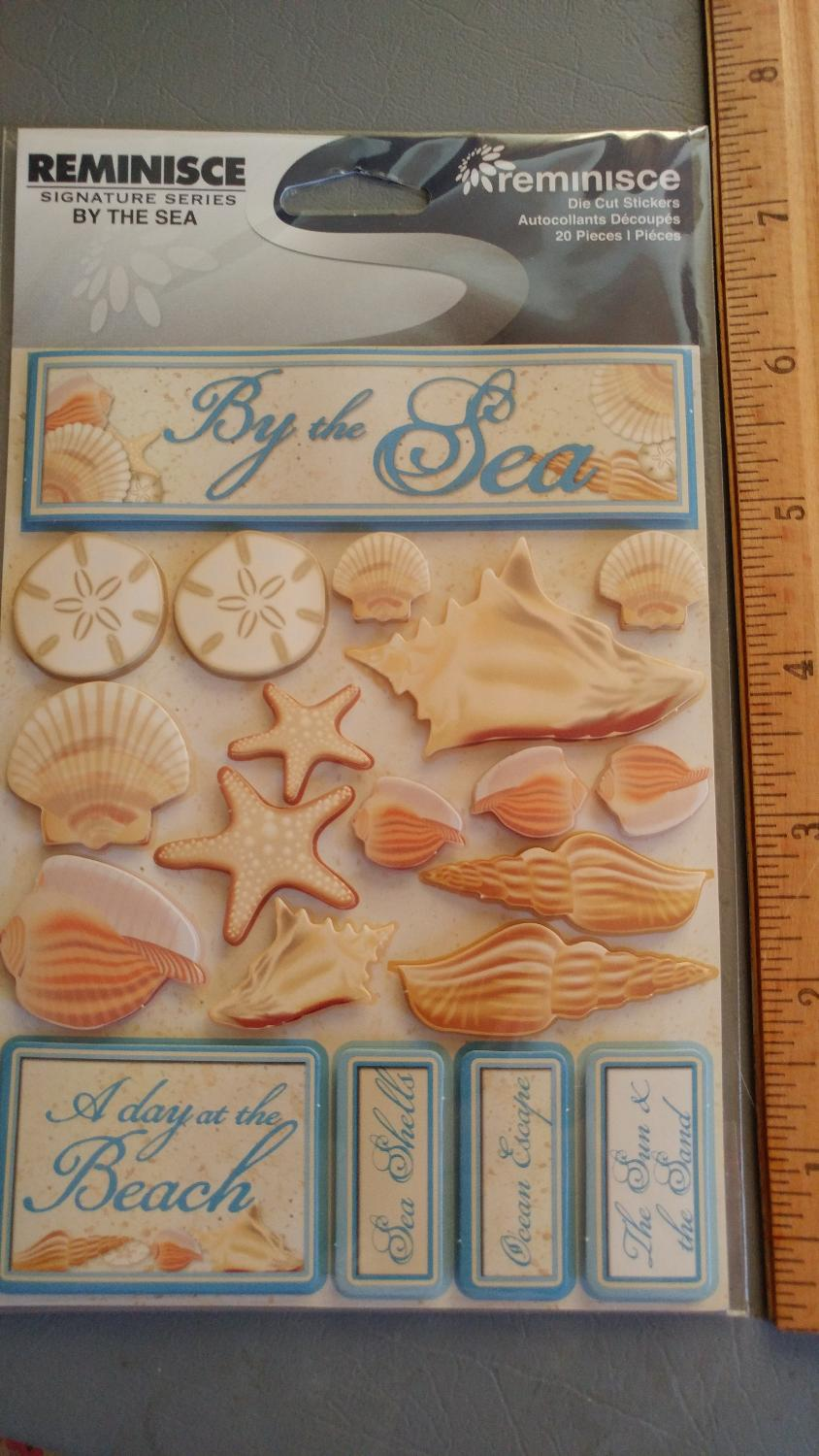 Best nip reminisce by the sea dimensional stickers for for Craft stores manchester nh