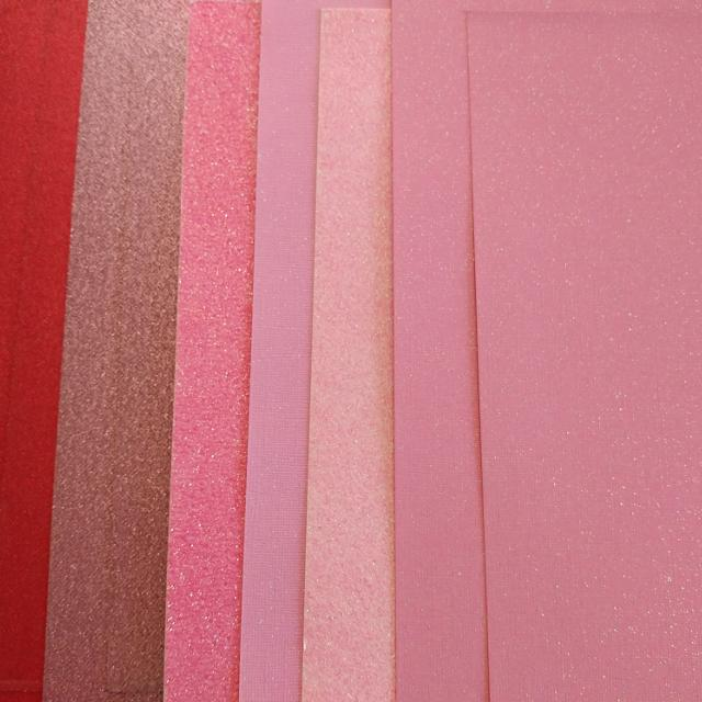 Best 12x12 red pink glitter stock 9 sheets for sale in for Craft stores manchester nh