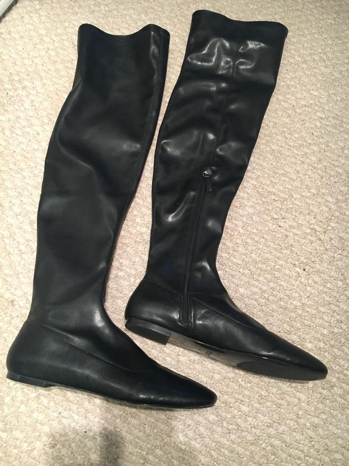 73eae8eacaf Zara over the knee boots size 7