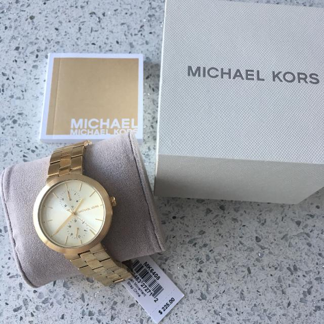 dc5fa2221686b Find more Authentic Michael Kors Watch With Tag And Original Box ...