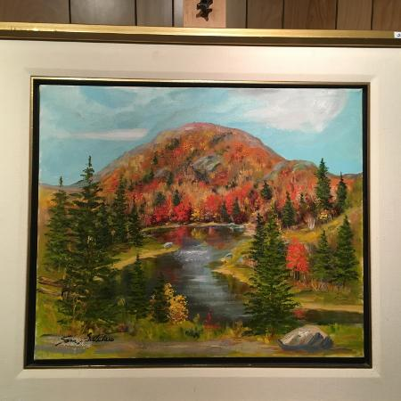 Gatelaro painting oil on canvas for sale  Canada