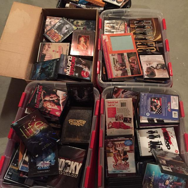 hundreds over New and used DVDs and SETS