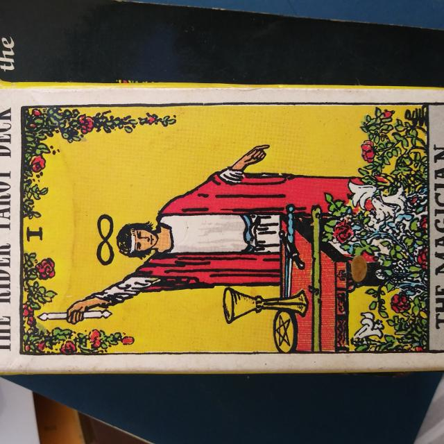 The ryder waite tarot deck