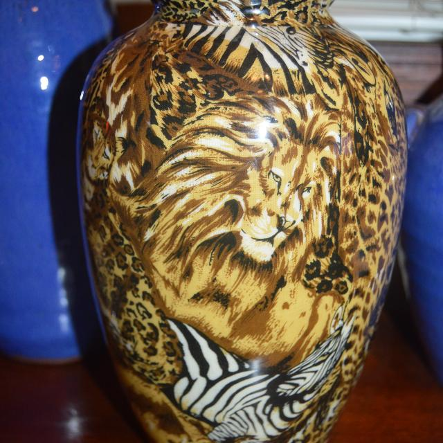 Find More La Vie Animal Print Vase For Sale At Up To 90 Off