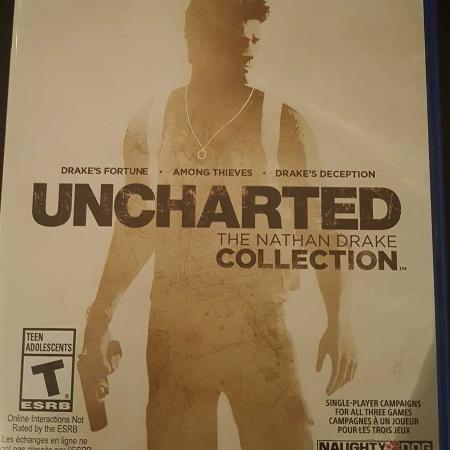 Uncharted the Nathan Drake collection... for sale  Canada