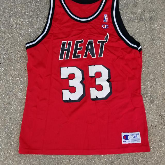 meet d08b1 19053 Alonzo Mourning Miami heat away/visitors jersey size Adult XL