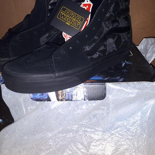 b38df9594f0c4f Find more Vans Sk8-hi Star Wars Dark Side Shoes for sale at up to 90 ...