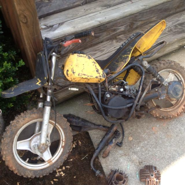 Best Yamaha 50 Cc 2 Stroke (project) Dirt Bike   for sale in