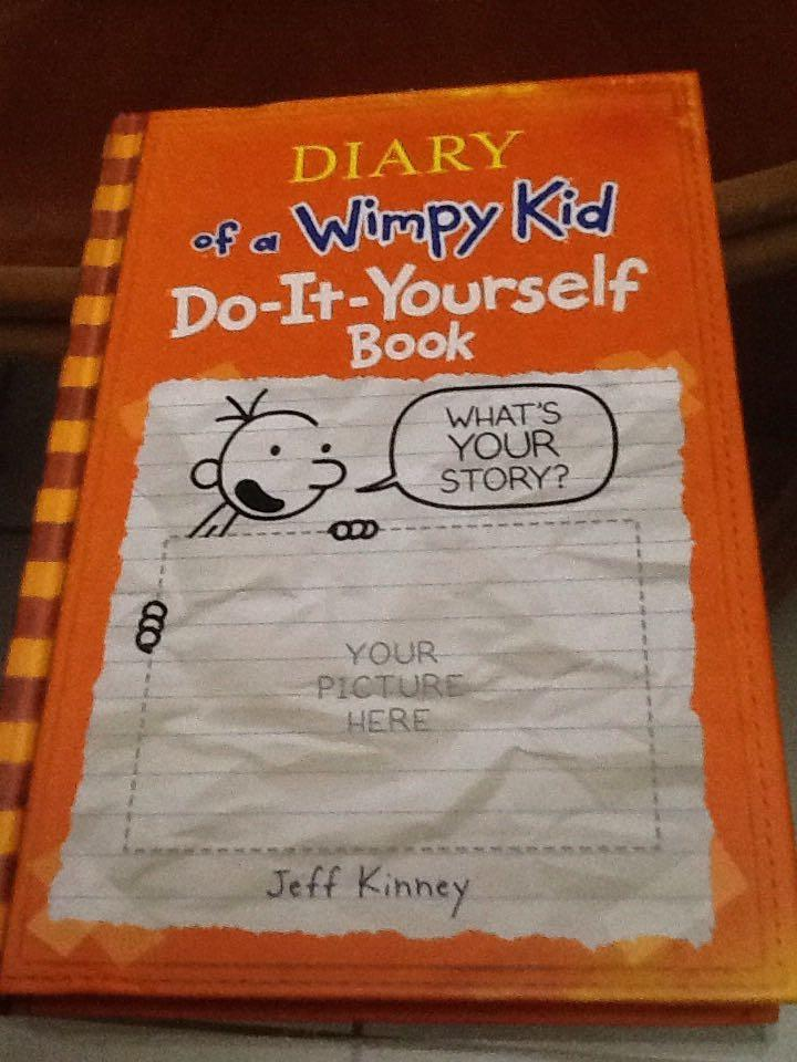 Find more vguc hb diary of a wimpy kid do it yourself book for find more vguc hb diary of a wimpy kid do it yourself book for sale at up to 90 off solutioingenieria Choice Image