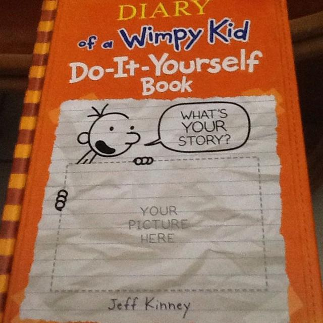 Find more vguc hb diary of a wimpy kid do it yourself book for diary of a wimpy kid do it yourself solutioingenieria Images