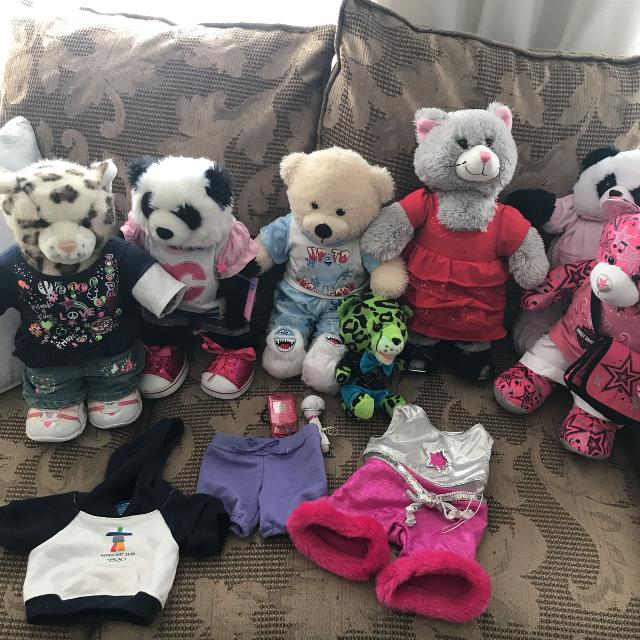 736d8a077fd Find more Build A Bear Collection Lots Of Accessories! for sale at ...