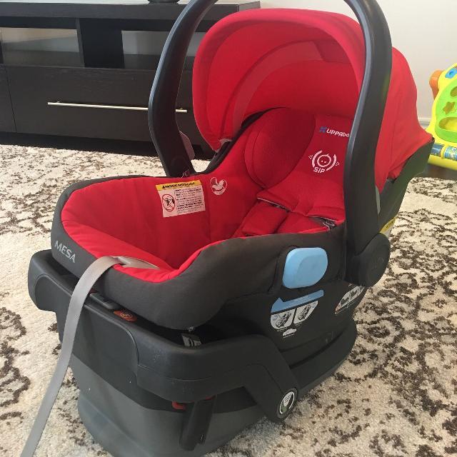 Uppababy Mesa Car Seat Red