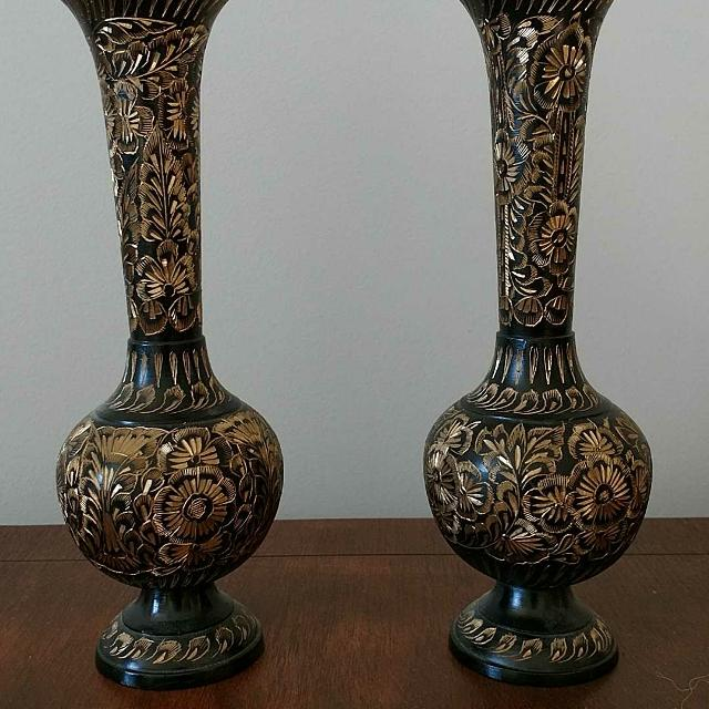 Best Decorative Metal Vases Or Candle Holders For Sale In Airdrie